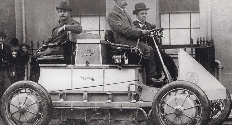 Lohner-Porsche, Ferdinand Porsche