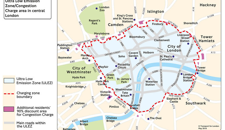 London Congestion Charge und ULEZ