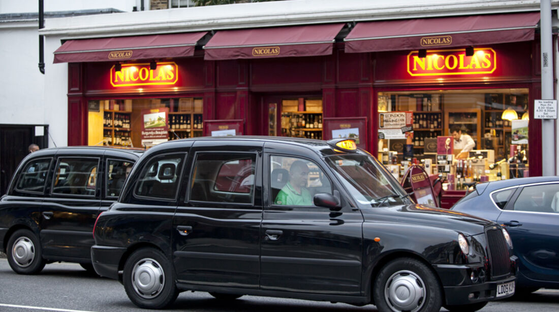 London, Taxis