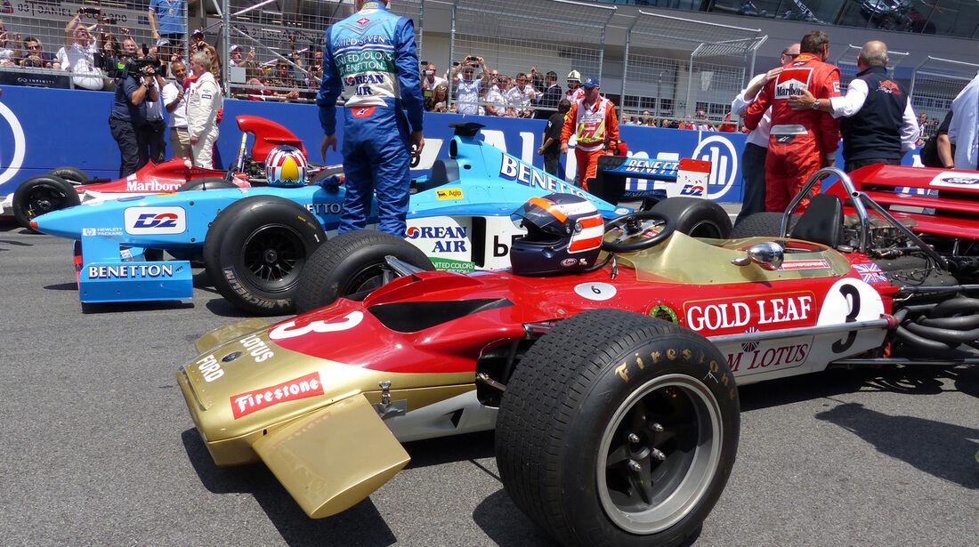 Lotus, Benetton & BRM - GP Österreich 2014 - Legenden