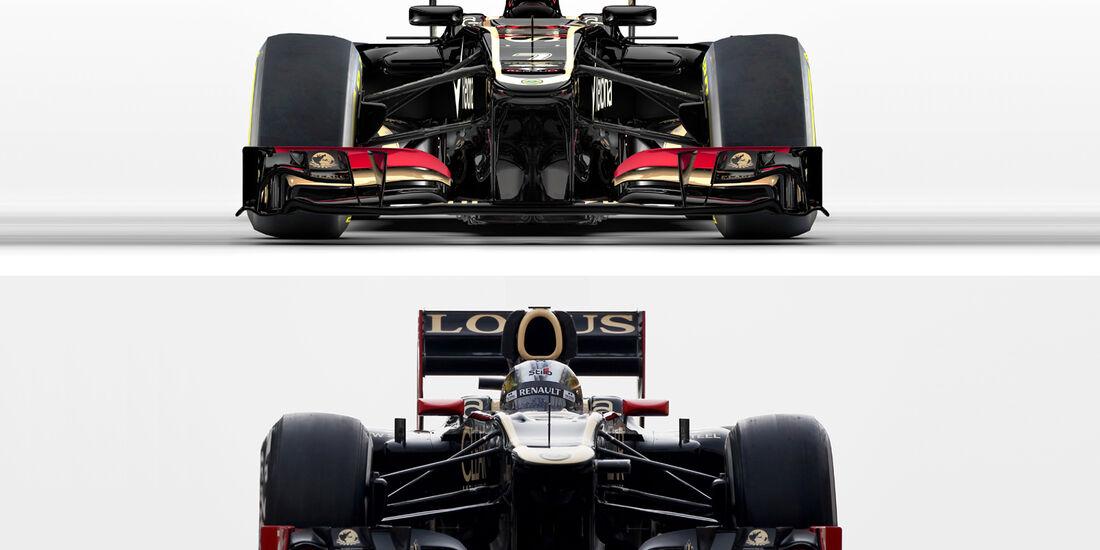 Lotus E21 E20 Vergleich