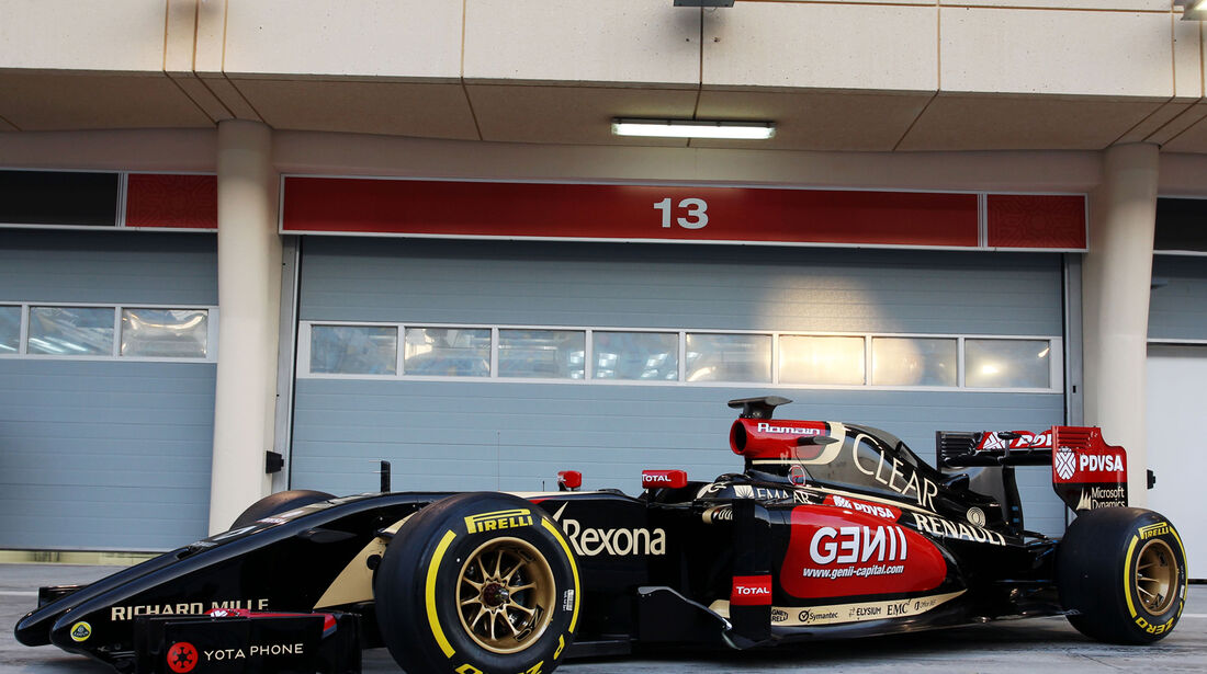 Lotus E22 - Technik-Analyse 2014