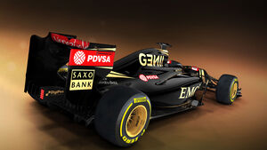 Lotus E23 - Grafik - 2015