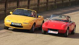 Lotus Elan S2, Mazda MX-5