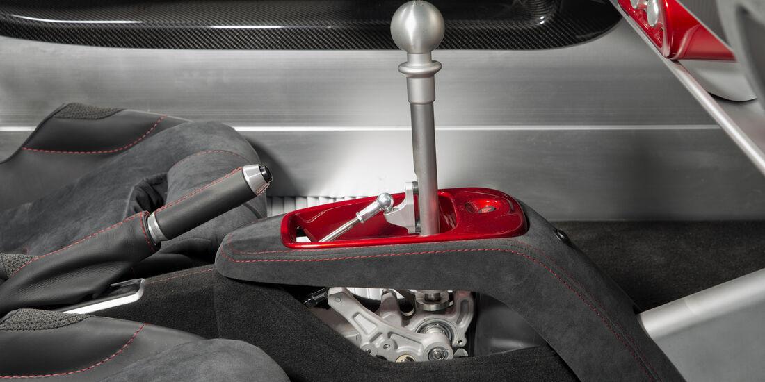 Lotus Elise 220 Sprint im Fahrbericht, Tracktest, 04/2017, Schaltkulisse