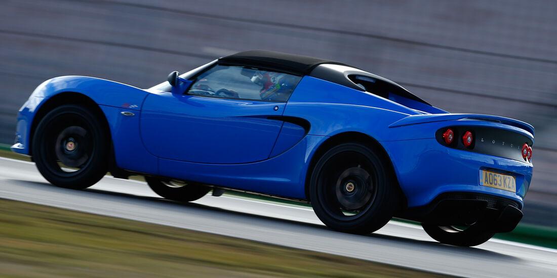 Lotus Elise S CR, Seitenansicht