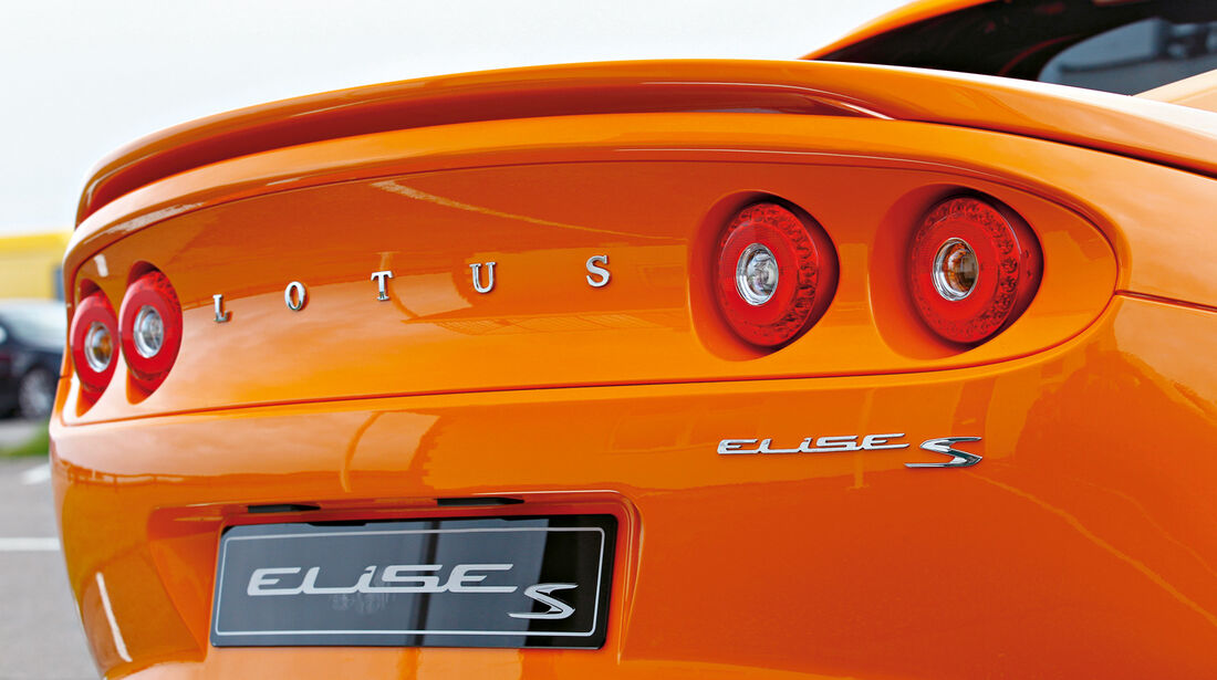 Lotus Elise S, Heck, Heckspoiler