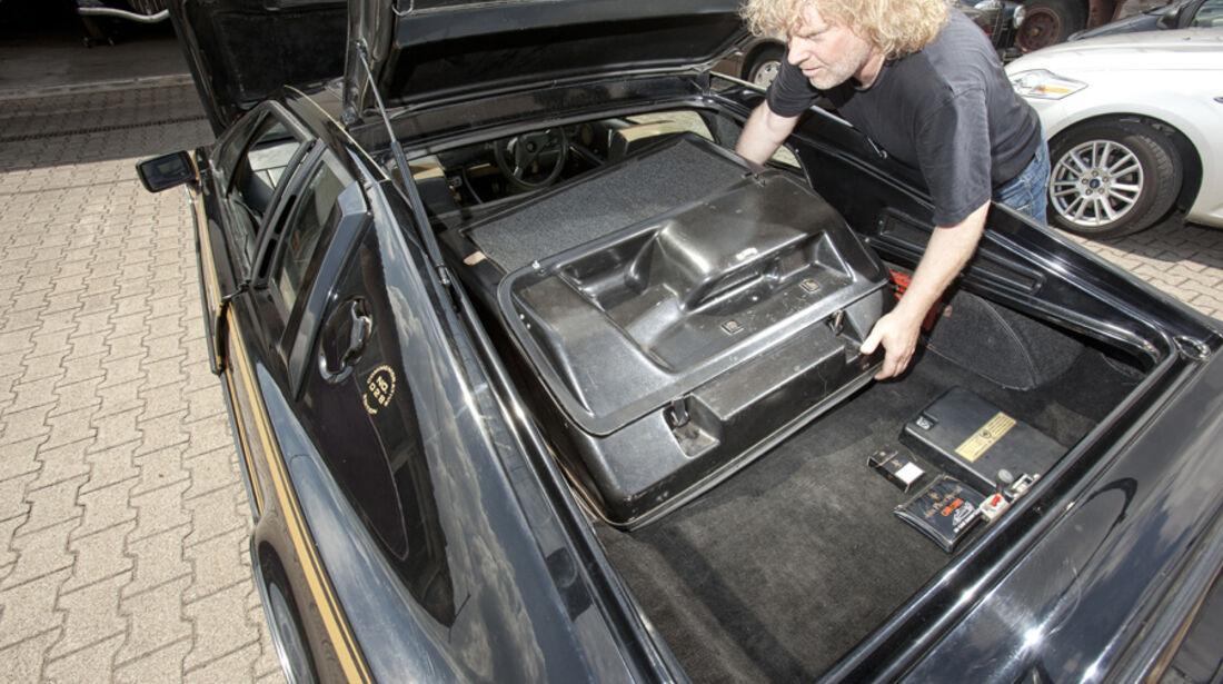 Lotus Esprit, Motorraum
