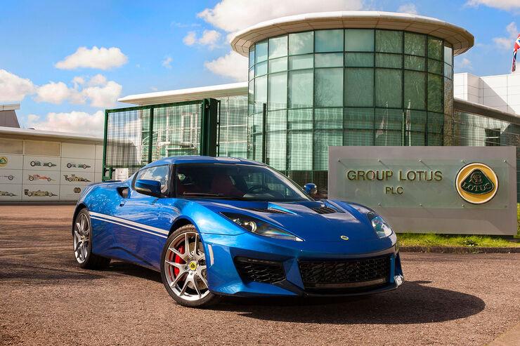 Lotus Evora 400 50th Anniversary Hethel Edition