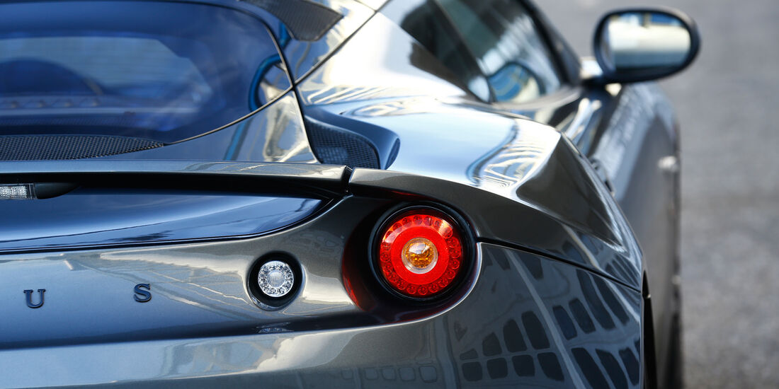 Lotus Evora S Sports Racer, Heckleuchte