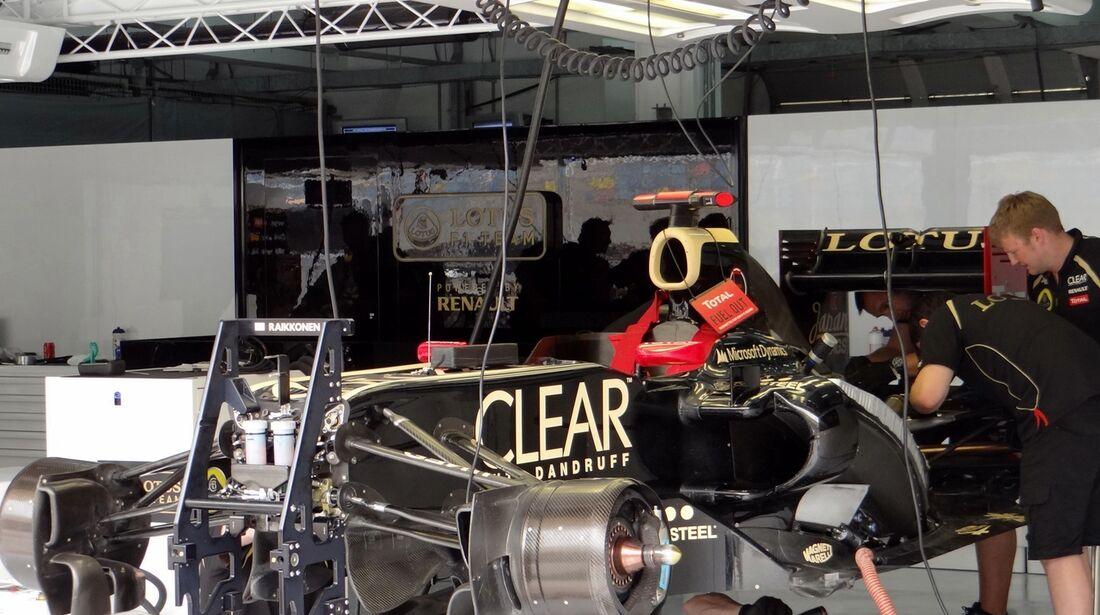 Lotus - Formel 1 - GP Bahrain - 20. April 2012