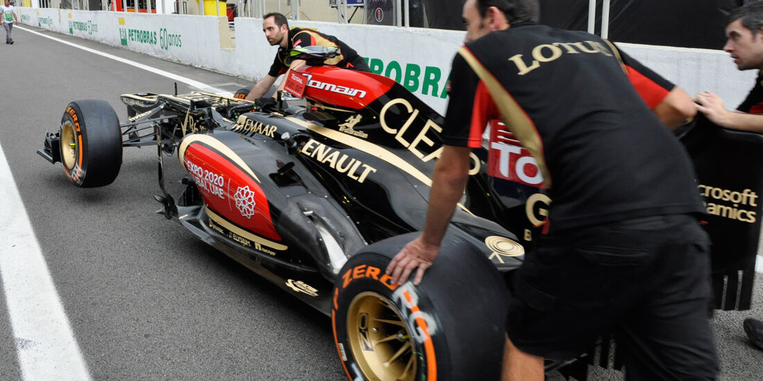 Lotus - Formel 1 - GP Brasilien - 21. November 2013