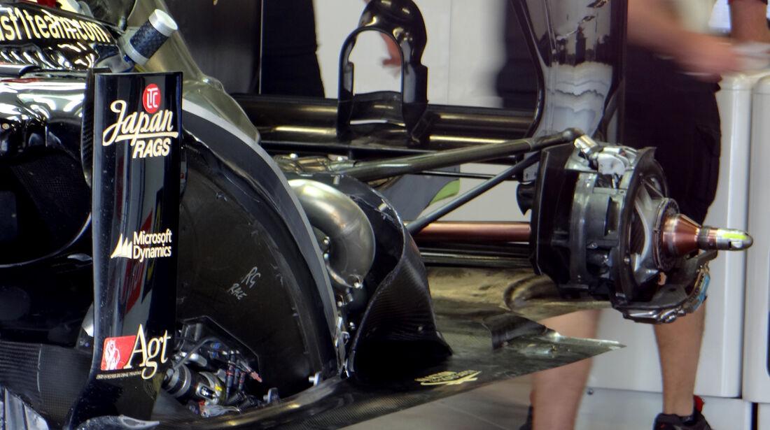 Lotus - Formel 1 - GP Deutschland - 6. Juli 2013