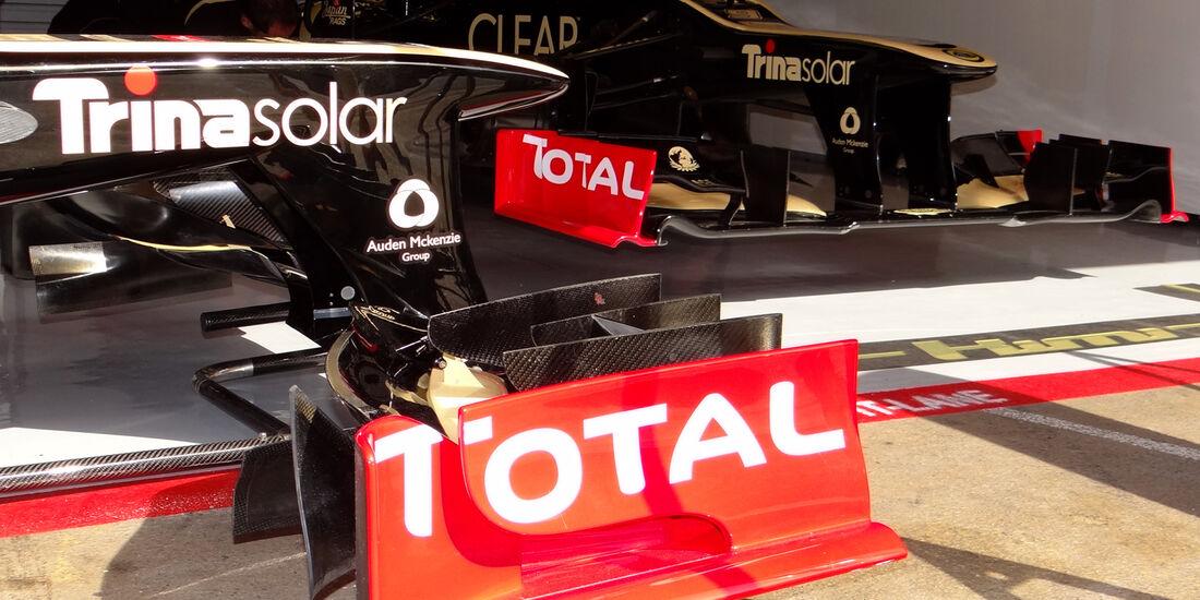 Lotus Formel 1 Technik GP Spanien 2012