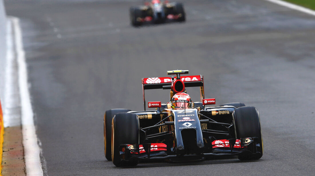 Lotus - GP Belgien 2014