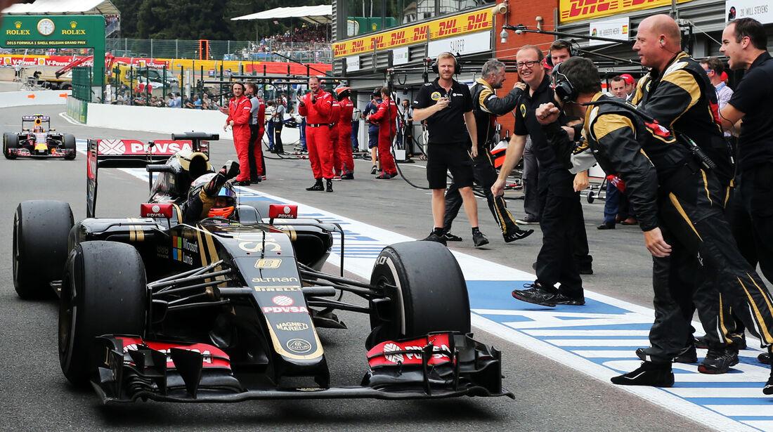 Lotus - GP Belgien 2015
