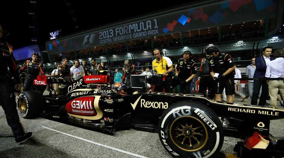 Lotus - GP Singapur 2013