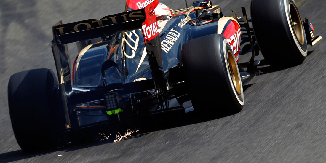 Lotus Grosjean GP Belgien 2013