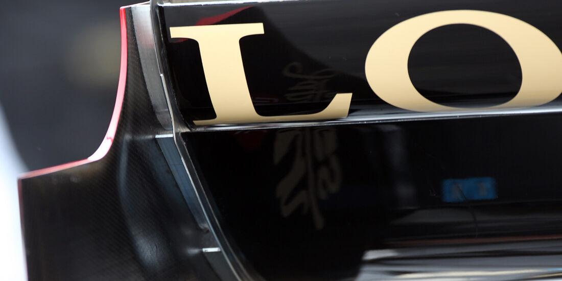Lotus-Heckflügel - GP Australien - Melbourne - 16. März 2012