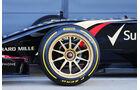 Lotus - Pirelli 18 Zoll - F1-Test Silverstone 2014