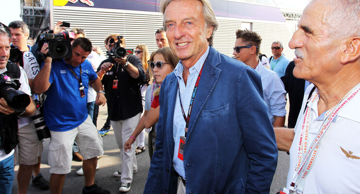 Luca di Montezemolo - Ferrari - Formel 1 - GP Italien - 7. September 2013