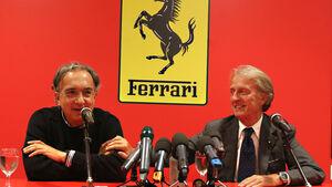 Luca di Montezemolo & Sergio Marchionne - Ferrari - 2014