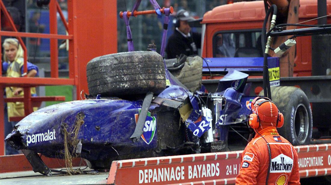 Luciano Burti - GP Belgien 2001