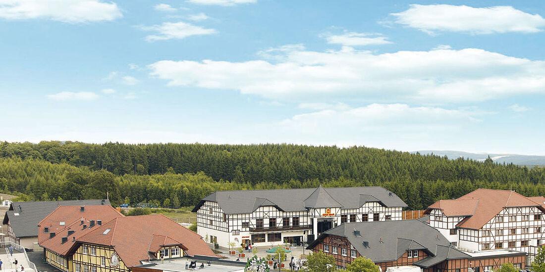 Luftaufnahme Eifeldorf