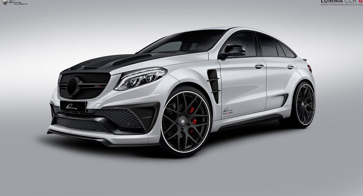 Lumma-Design, Mercedes GLE 63 S AMG Coupé, SUV-Coupé