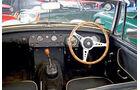 MG Midget, Cockpit, Lenkrad