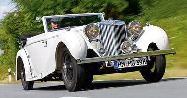 MG SA Tickford DHC, Frontansicht
