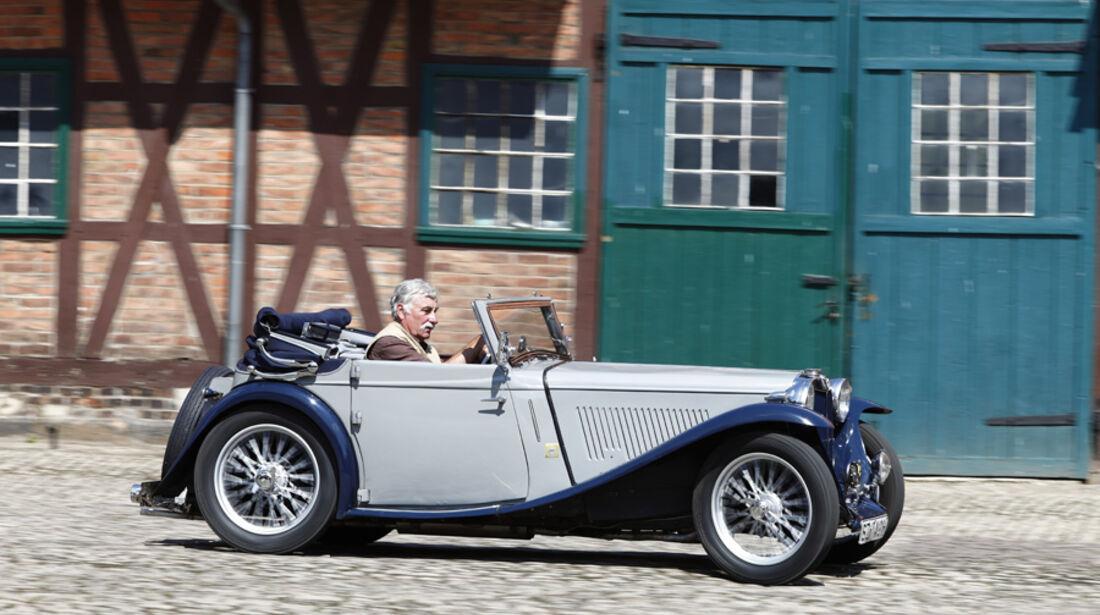 MG TA Tickford, Baujahr 1937