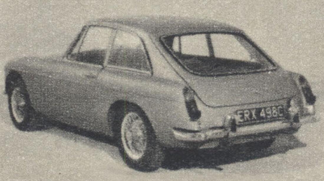 MGB, GT, IAA 1967