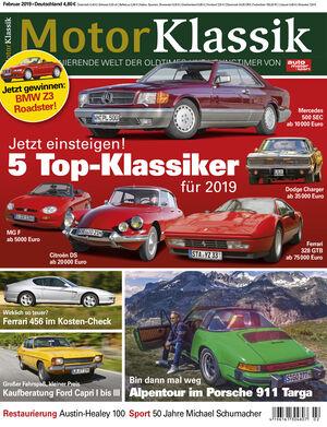 MKL Motor Klassik Heft 02/2019 Cover
