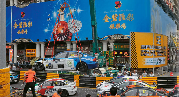 Macao, Unfall