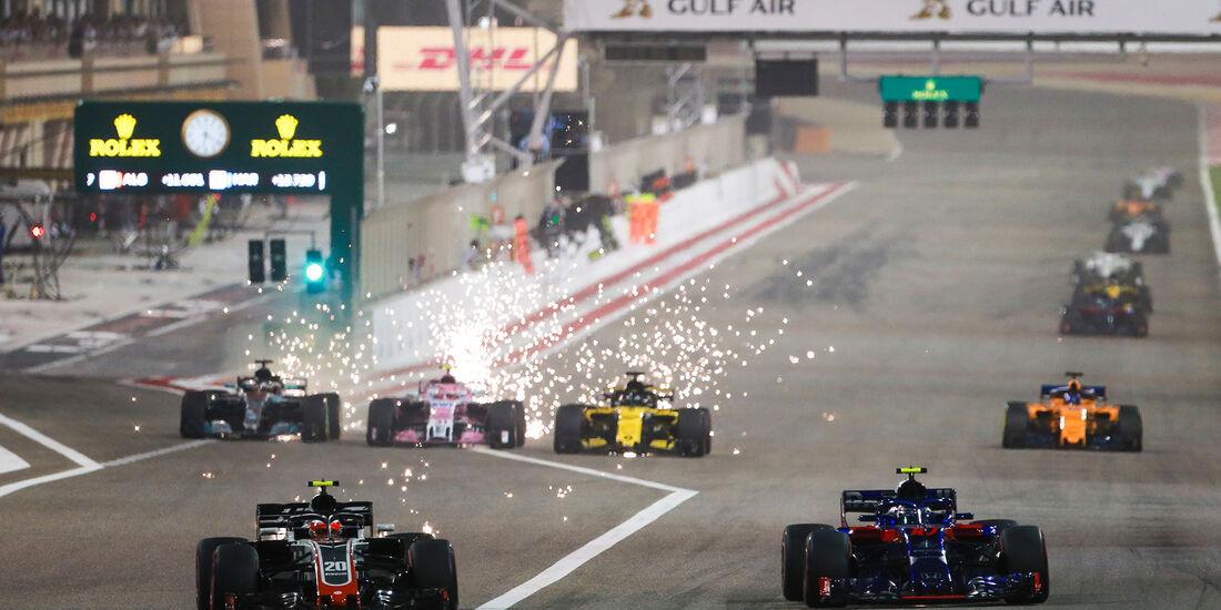 Magnussen vs. Gasly - Formel 1 - GP Bahrain 2018