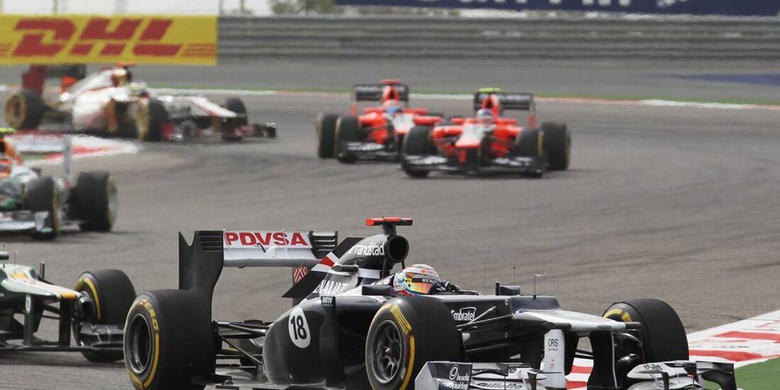 Maldonado  - Formel 1 - GP Bahrain - 22. April 2012