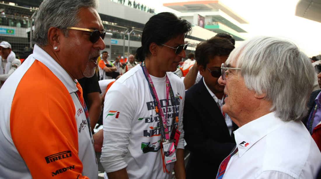 Mallya & Eccleston GP Indien 2011