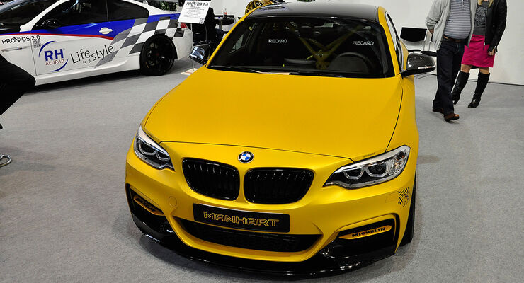 Manhart, MH2 Clubsport, BMW M235i, Tuning World Bodensee 2014