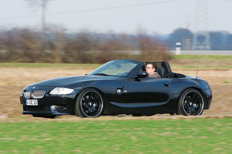 Manhart Racing BMW Z4 M V10