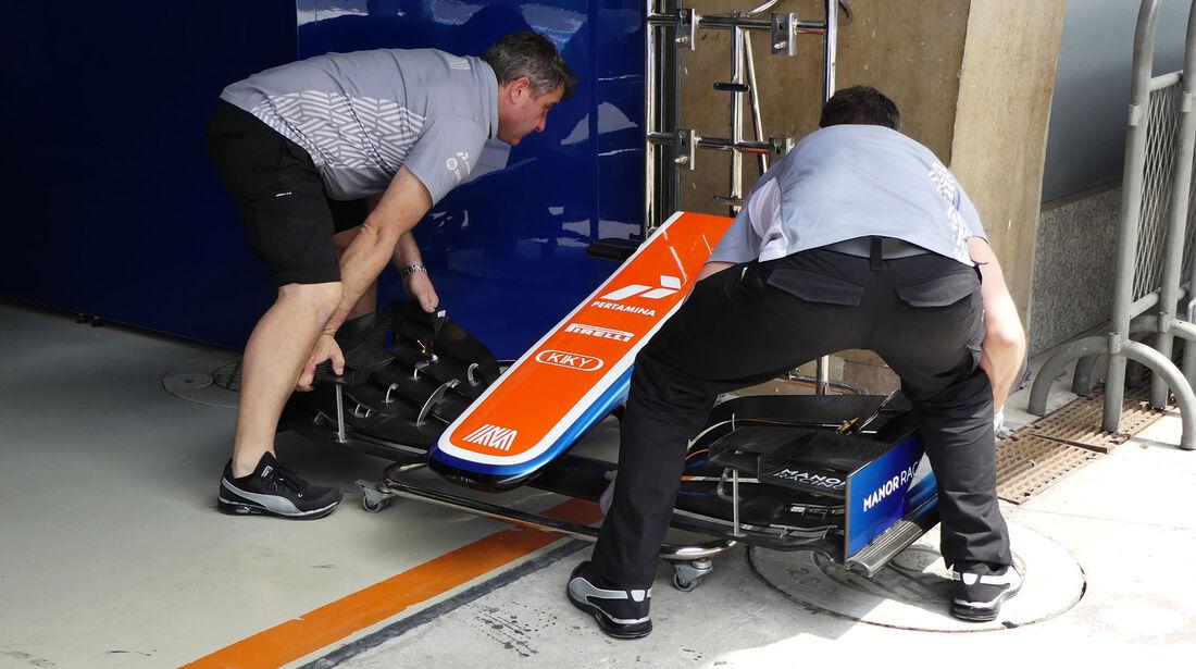 Manor F1 - GP China - Shanghai - Donnerstag - 14.4.2016