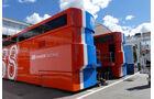 Manor - F1 - Motorhome - GP Spanien 2016 - Barcelona