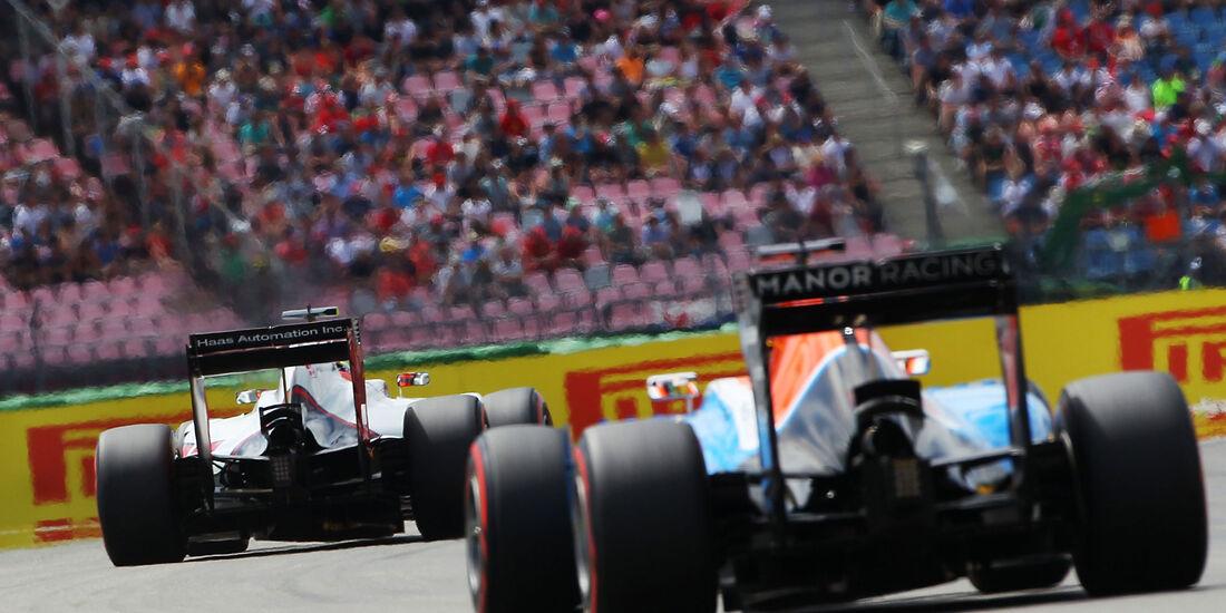 Manor  - Formel 1 - GP Deutschland - 30. Juli 2016