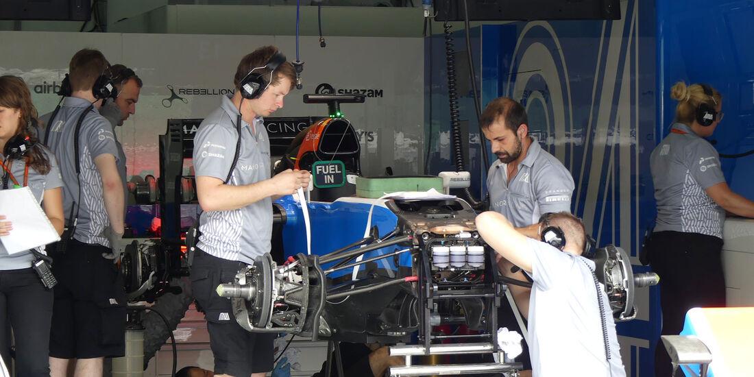 Manor - Formel 1 - GP Malaysia - Sepang - Donnerstag - 29.9.2016