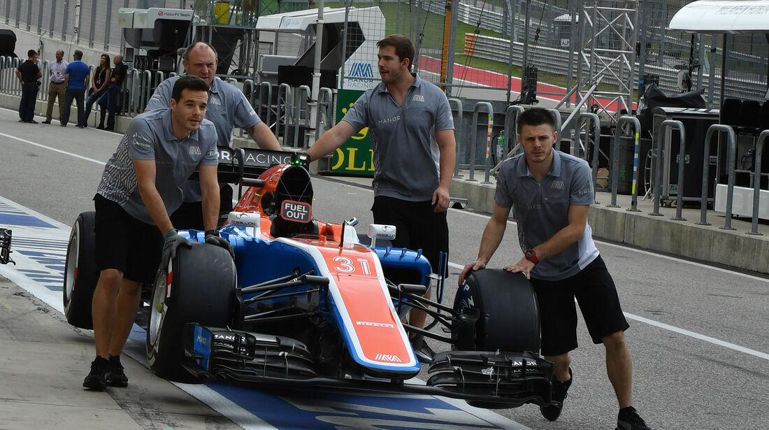 Manor - Formel 1 - GP USA - Austin - 20. Oktober 2016
