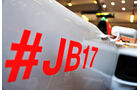 Manor - Jules Bianchi-Aufkleber - GP Ungarn 2015