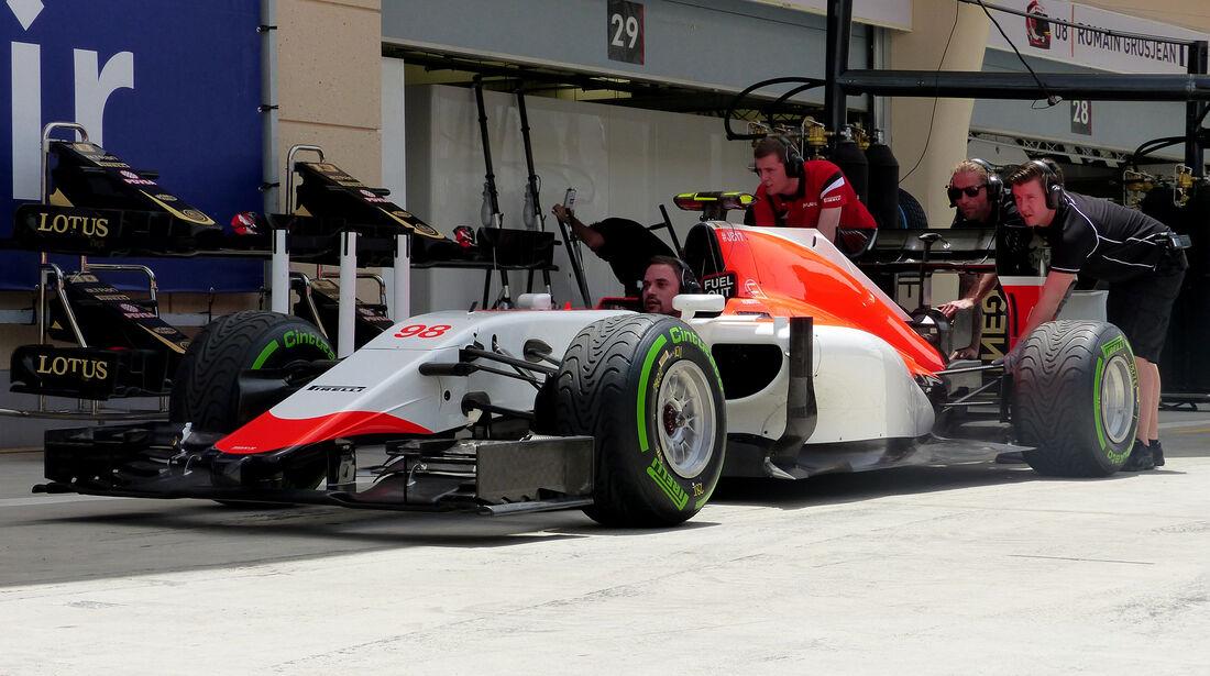 Manor Marussia - Formel 1 - GP Bahrain - 17. April 2015