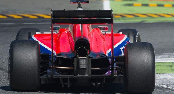 Manor Marussia - Technik - GP Italien 2015