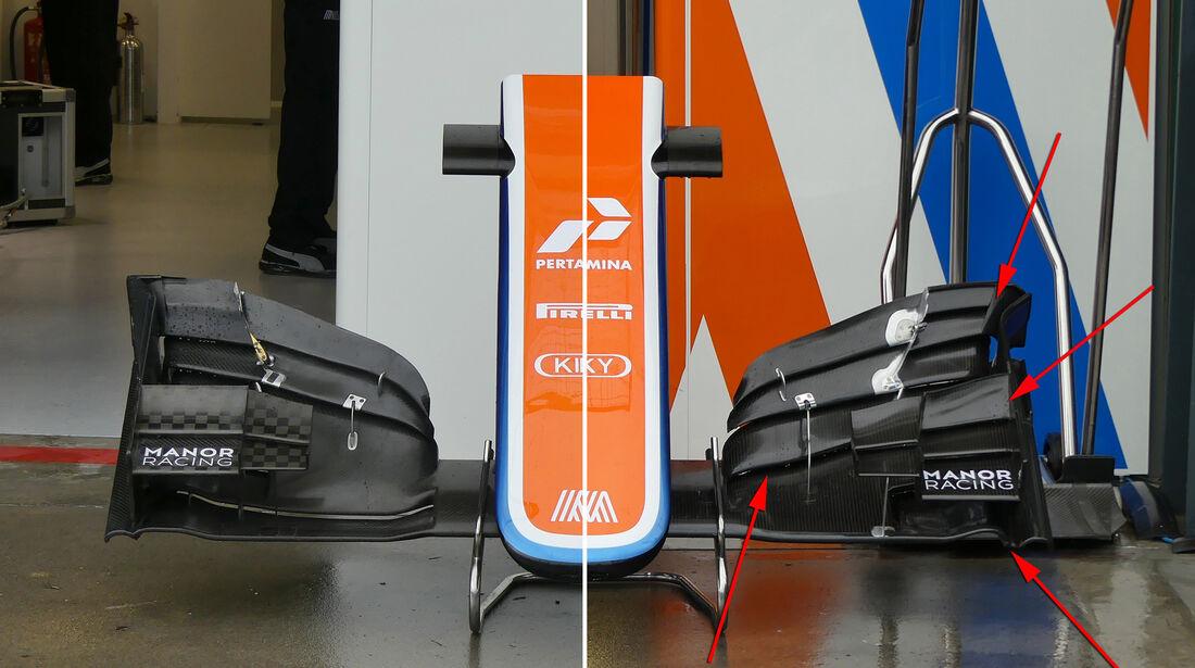 Manor - Technik - GP Australien 2016