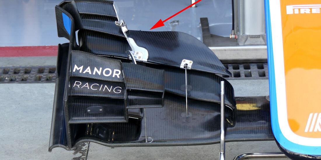 Manor - Technik - GP Italien 2016